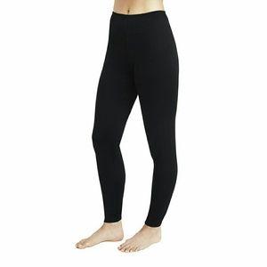 Cuddl Duds climate smart leggings black